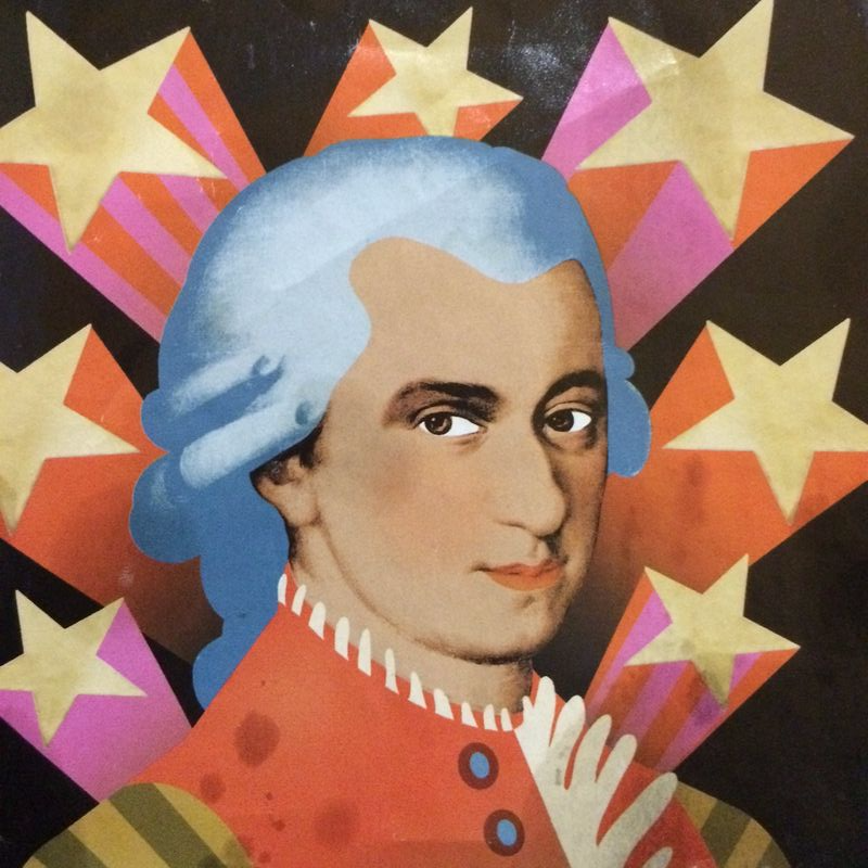 Mozart Psychedelic Pic