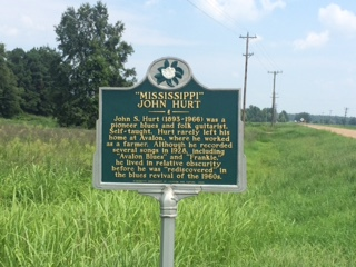 John Hurt Historical Marker