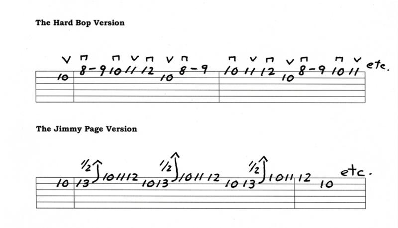 Jimmy Page Hard Bop