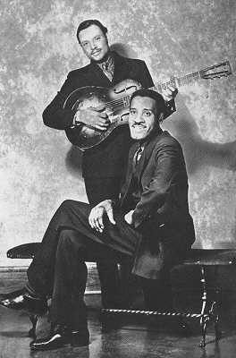Leroy Carr and Scrapper Blackwell Promo Pic