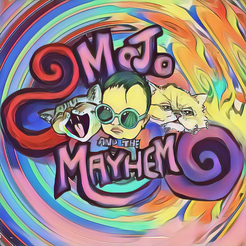 Mojo and the Mayhem Album Cover