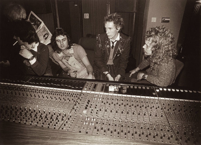 Pistols in the Studio