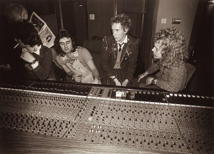Pistols in the Studio
